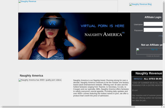 naughty america affiliate program