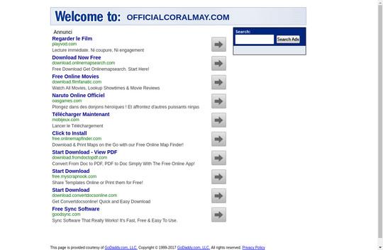 officialcoralmay.com