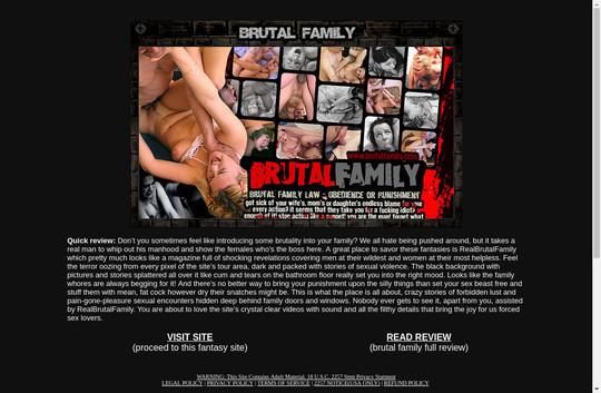 real brutal family
