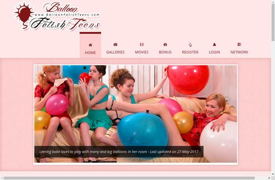 balloon fetish teens