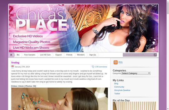 chicasplace.com