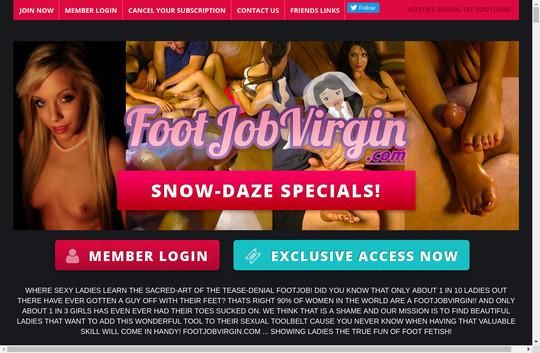 footjobvirgin.com