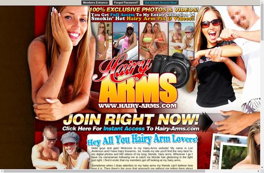 hairy-arms.com