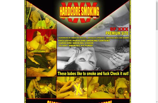 hardcore smoking xxx