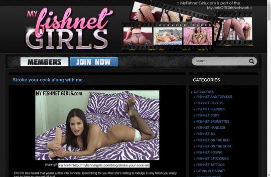 my fishnet girls