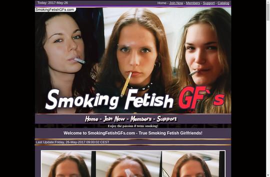 smoking fetish gfs