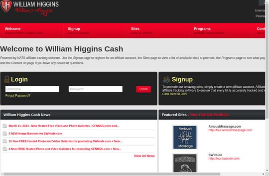 wh cash affiliate refferal website