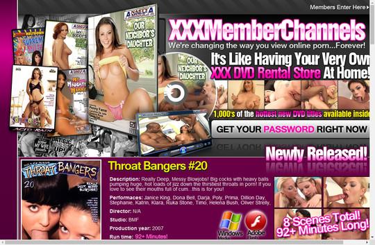 xxx member channels
