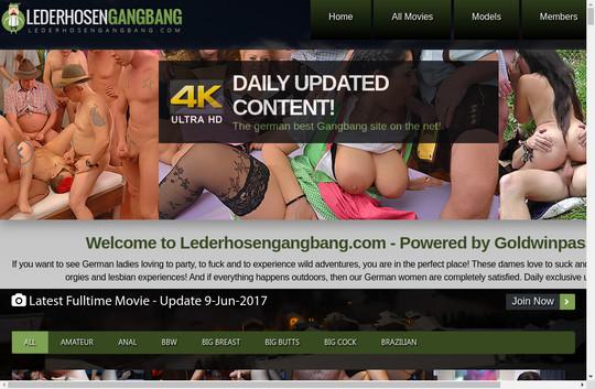 lederhosengangbang.com