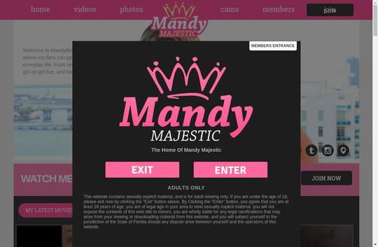 mandy majestic