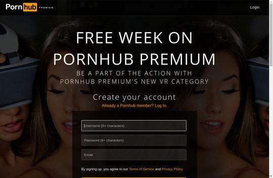 Pass premium porn hub
