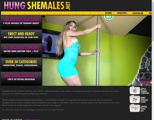 hung shemales