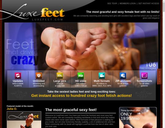 luxe feet
