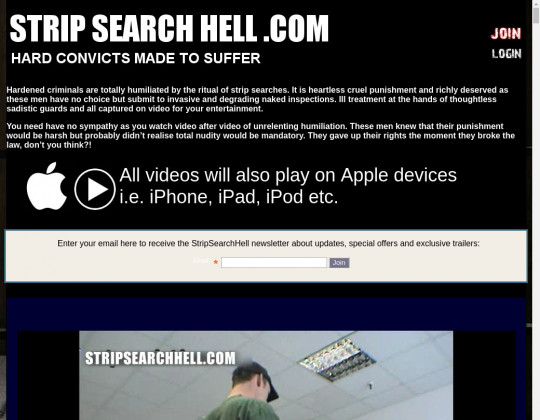 strip search hell