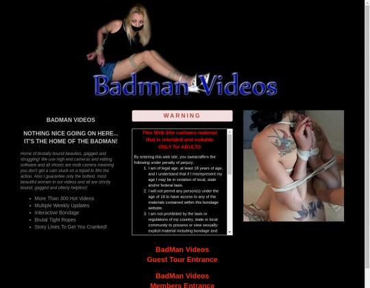 bad man videos