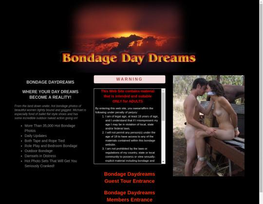 bondage daydreams