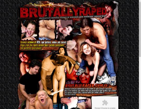 brutally raped