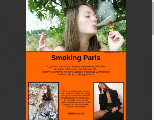 smoking paris