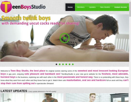 teen boys studio