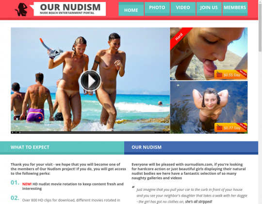 our nudism