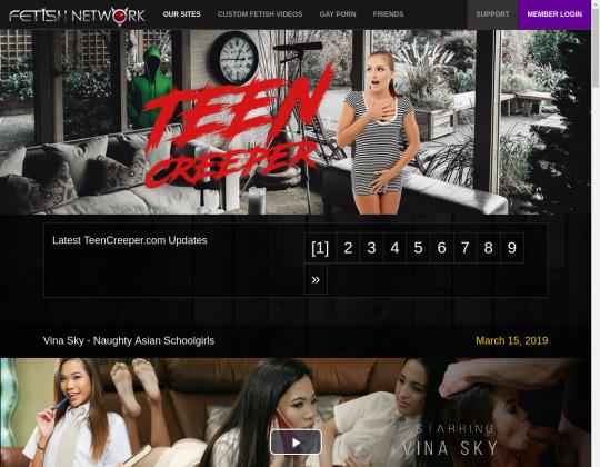 teen creeper