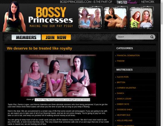 bossy princesses