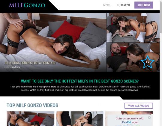 milf gonzo