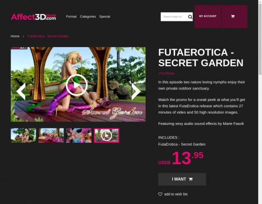 futa erotica - secret garden